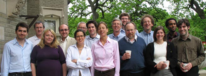 "participants of the 2008 ""Science as a Vocation"" workshop"