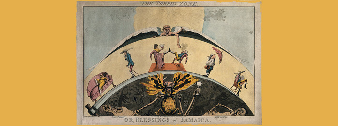 """Torrid Zone, or Blessings of Jamaica"" (1800)"